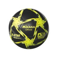 Mikasa® Elstar Soccer Ball Size 3, Black/Yellow