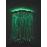 IRiS LED Fiber Optic Corner Shower With iConverter