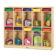 Take Home Center Lockers With Colored Trays