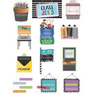 Bold And Bright Jobs Bulletin Board Set