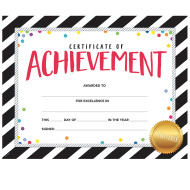 Bold And Bright Certificate of Achievement (pack of 50)