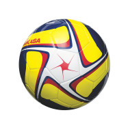 Mikasa® SCE Competitive Play Soccer Ball, Size 5 White/Yellow/Navy