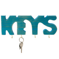 Unfinished Key Rack