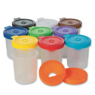 No-Spill Paint Cups  (set of 10)