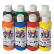 8-oz. Color Splash!® Acrylic Paint Assortment (set of 8)