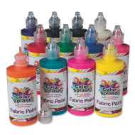 4-oz. Color Splash!® Fabric Paint Assortment (pack of 12)