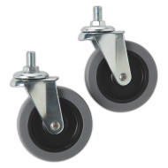 Replacement Wheels for Storage Carts (pack of 2)