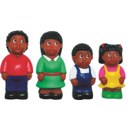 African-American Family Play Figures (set of 4)