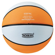 Tachikara® Rubber Basketball, Gold/White