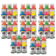1-oz. Color Splash!® Neon Acrylic Paint Pass Around Pack  (pack of 48)