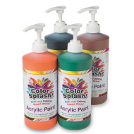 32-oz. Color Splash!® Acrylic Paint Assortment (set of 4)