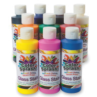 8-oz. Color Splash!® Glass Stain Assortment (pack of 10)