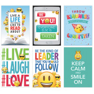 Emoji Fun Poster Pack (pack of 6)