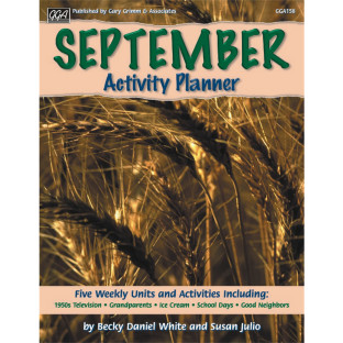 ACTIVITY PLANNER SEPT DEC SET