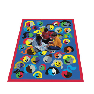 Joyful Faces Carpet