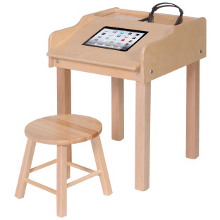 Single-Sided Single Wide Tablet Table