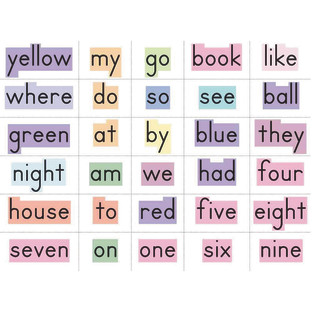 WORD WALL CARDS GRADES K TO 1