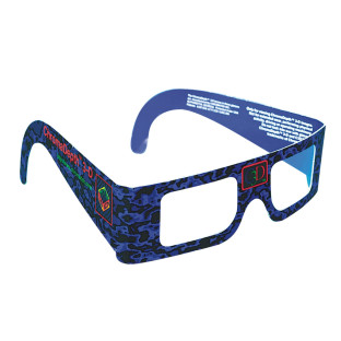 ChromaDepth 3-D Glasses