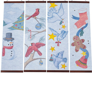 Christmas Designer Panels Craft Kit