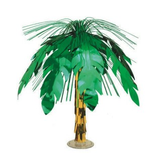 Foil Palm Tree Centerpiece