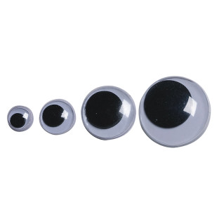 15mm Wiggly Eyes