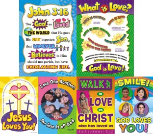 GOD IS LOVE POSTER BBS