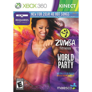 KINECT ZUMBA FITNESS WORLD PARTY