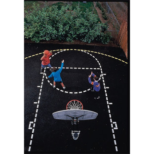 Ursa Major Basketball Court Stencil Set