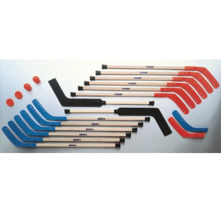 Shield® Hardwood Hockey Set, 42