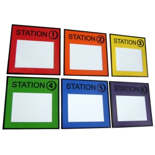 Instruct on the go with reusable dry erase boards!