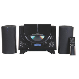 Supersonic® Micro HI-FI Stereo System with Remote