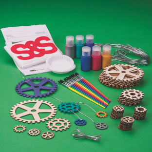 Gears 'N Motion Mobiles Craft Kit