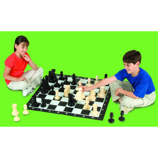 Jumbo Chess Set with 8