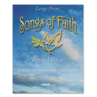 Songs of Faith Book