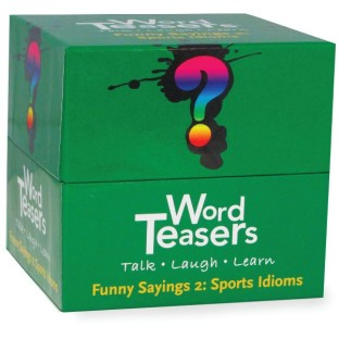 Word Teasers® Funny Sayings 2 Game, Sports Idioms