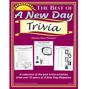 BEST OF A NEW DAY TRIVIA BOOK