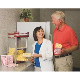 THEATER STYLE HOT AIR POPCORN POPPER