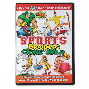 Sports Bloopers Gone Wild 2-DVD Set