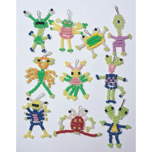 Beaded Aliens Craft Kit