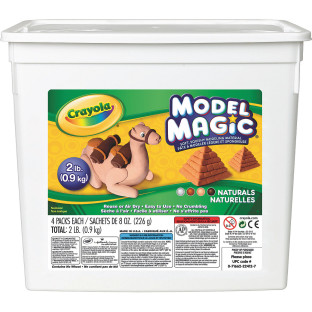 Crayola® Model Magic® Modeling Compound, Natural Colors