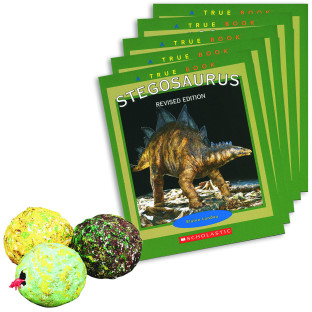 LITERACY FUN PACK STEGOSAURUS