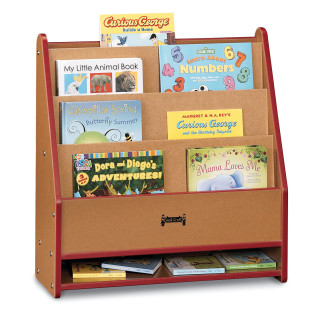SPROUTZ 1 SIDED BOOK STAND RED