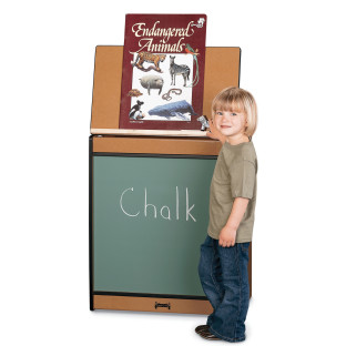SPROUTZ BIG BOOK EASEL CHALKBOARD RED