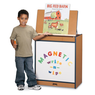 SPROUTZ BIG BOOK EASEL MAG WRITE RED