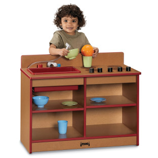 SPROUTZ TODDLER 2 IN 1 KITCHEN RED
