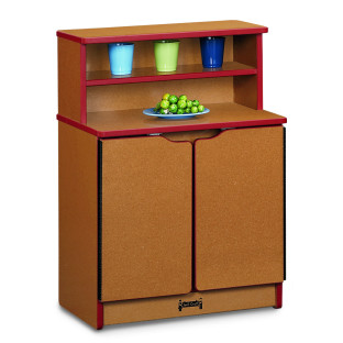 SPROUTZ KINDER KITCHEN CUPBOARD RED
