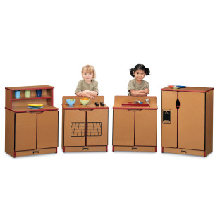 SPROUTZ KINDER KITCHEN 4 PC SET RED