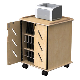 Laptop and Tablet Storage Cart