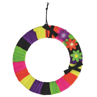 Funky Felt Wreath Craft Kit
