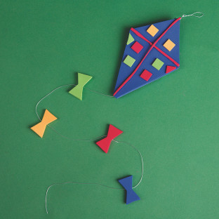 Windy Day Kites Craft Kit